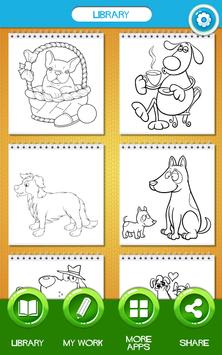 Dog Coloring Book Apk Screenshot