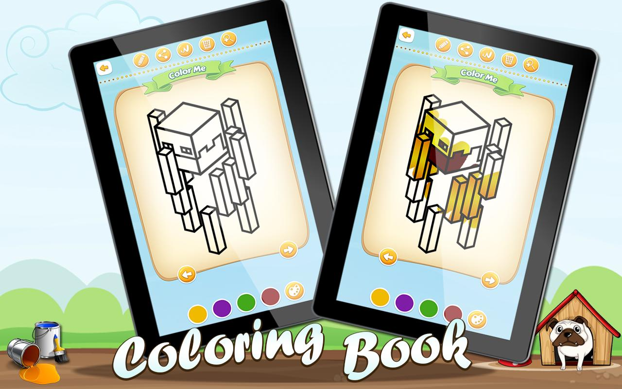 Coloring Minecraft For Android Apk Download
