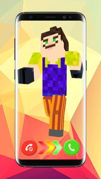 Caller Skins For Minecraft PE Color Phone Flash Para Android APK - Skins para minecraft pe flash