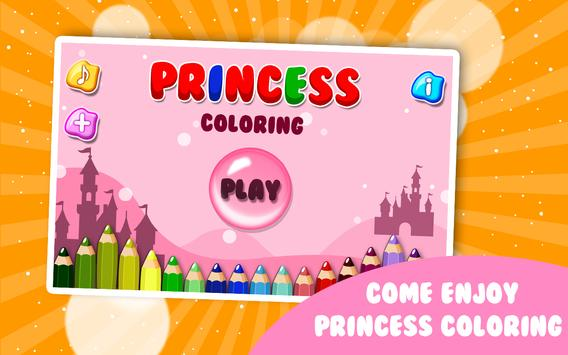 Coloring Book Princess apk screenshot