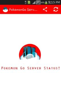 Server Status Pokemon Go poster