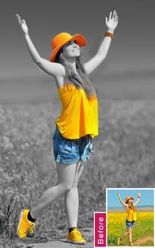 Color Splash Photo poster
