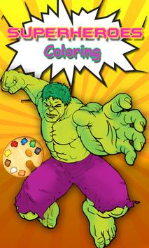 Hulk Coloring pages :Superheroes Coloring book for Android - APK ...