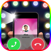 Color Flash Call sur appel and SMS icon
