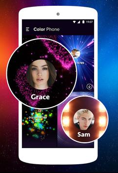 Color Flash Call sur appel and SMS screenshot 2