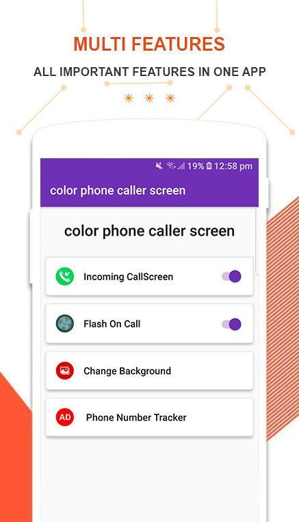 Color Phone Flash - a call screen theme for Android - APK