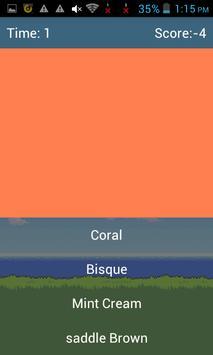 Guess The Color- ColorMania apk screenshot