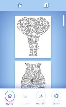 Animal coloring mandala pages screenshot 19
