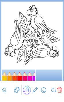 Animal coloring mandala pages screenshot 1