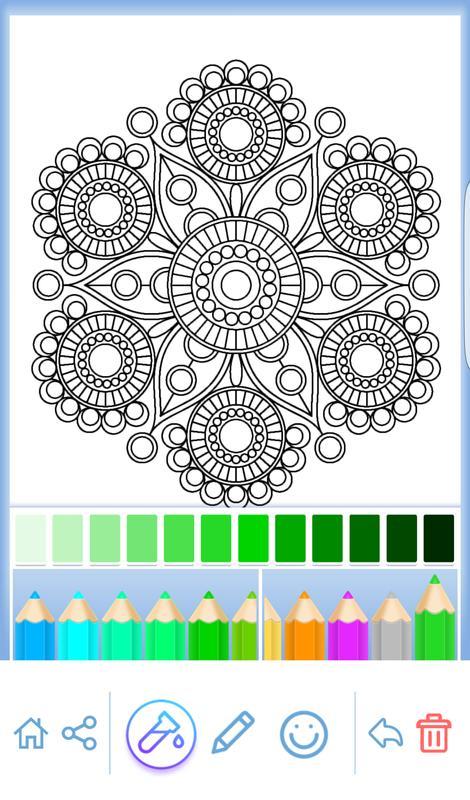 Mandala colorear para adultos Descarga APK - Gratis Arte y Diseño ...
