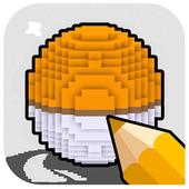 Free Coloring For Pixelmon MOD icon