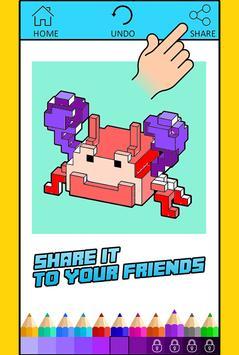 Free Coloring For Pixelmon MOD screenshot 3