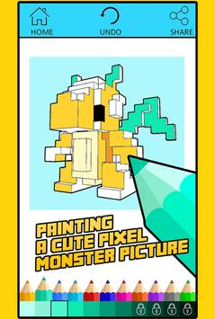 Free Coloring For Pixelmon MOD poster