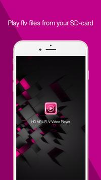 HD MP4 FLV Video Player poster