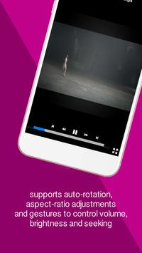 HD MP4 FLV Video Player apk screenshot