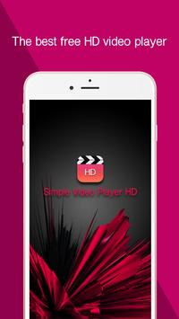 Simple Video Player HD poster