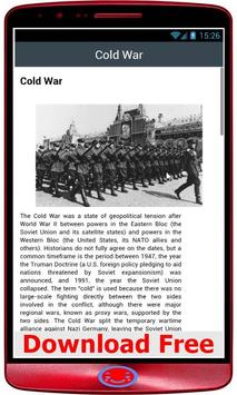 Cold War History screenshot 1