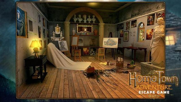 Escape game:home town adventure screenshot 1