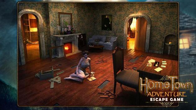 Escape game:home town adventure screenshot 4