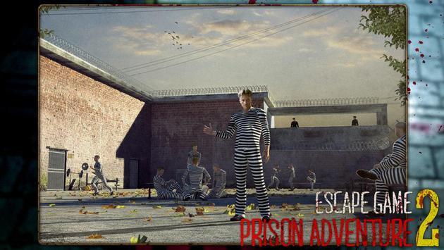 Escape game : prison adventure 2 poster