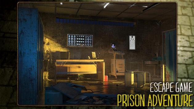 Escape game:prison adventure poster