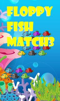 Floppy Fish Match 3 poster
