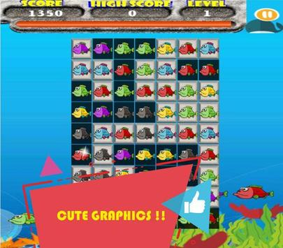Floppy Fish Match 3 apk screenshot