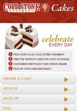 Cold Stone Cakes poster