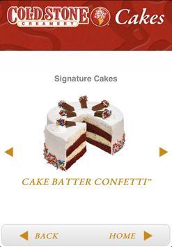 Cold Stone Cakes apk screenshot