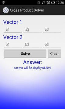 Vector Cross Product poster