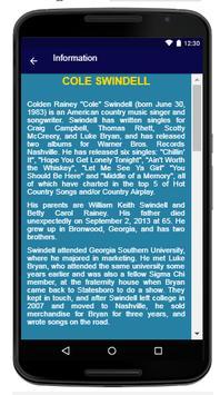 Cole Swindell - Song And Lyrics screenshot 5