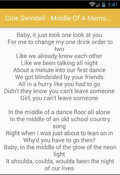 Cole Swindell Lyrics Album for Android - APK Download
