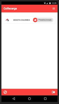 Colfecarga App apk screenshot