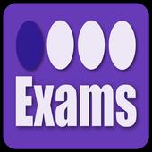 Exams - For bubble sheet exam icon
