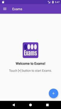 Exams - For bubble sheet exam poster