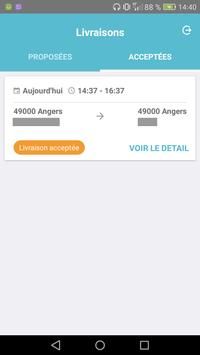 Colisweb Coursier apk screenshot