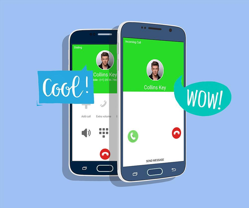 Fake Call From Collins Key Prank For Android Apk Download