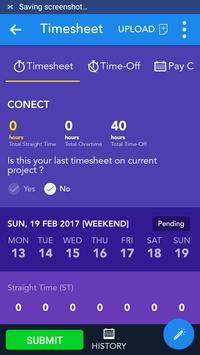 Collabera CONECT apk screenshot