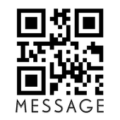 QR Code Message icon