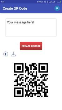 QR Code Message screenshot 1