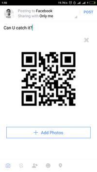QR Code Message screenshot 3