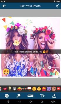 Insta Square Snap Pic Editor screenshot 3