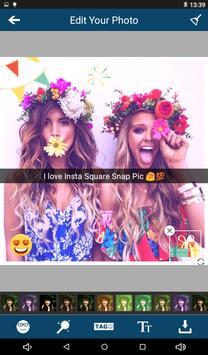 Insta Square Snap Pic Editor screenshot 2