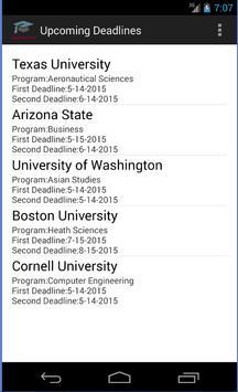 College Applications Reminder screenshot 5