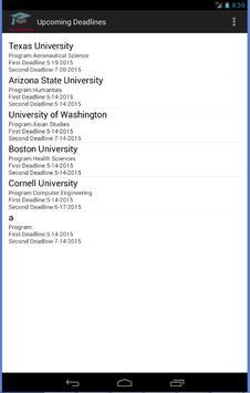 College Applications Reminder screenshot 23