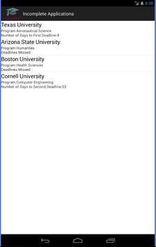 College Applications Reminder screenshot 22