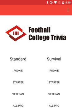 Football College Trivia screenshot 3