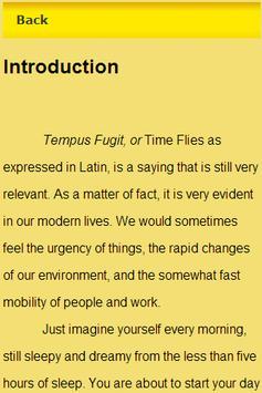 Time Management Guide apk screenshot