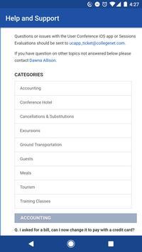 CollegeNET User Conference apk screenshot