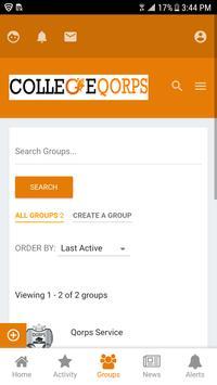 CollegeQorps screenshot 4